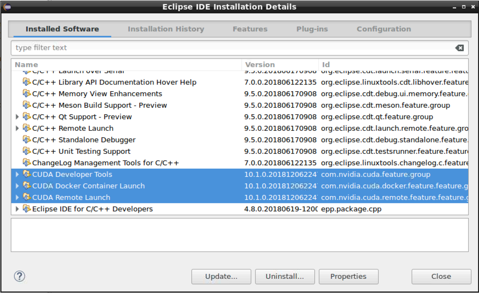 Nsight Eclipse Plugins Installation Guide :: CUDA Toolkit