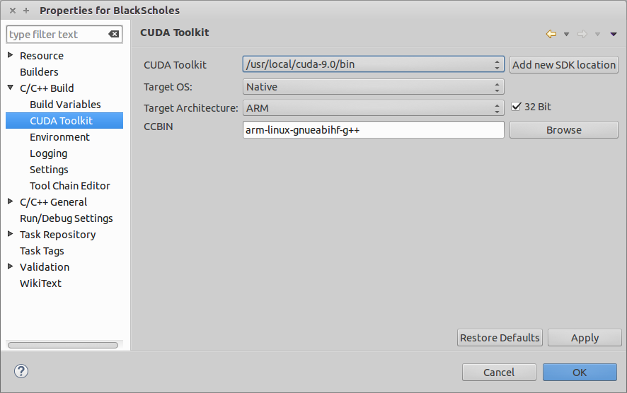 Nsight Eclipse Plugins Edition :: CUDA Toolkit Documentation
