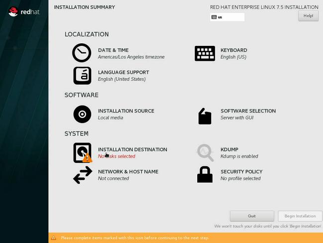 DGX Software for Red Hat Enterprise Linux 7 - Installation