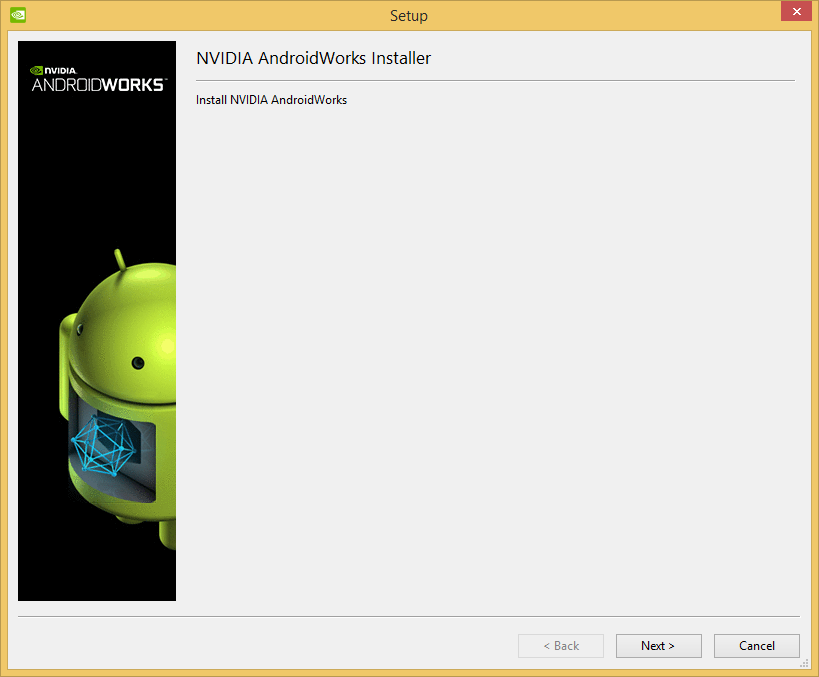 Download and Install AndroidWorks