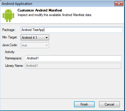 how to build a basic android application