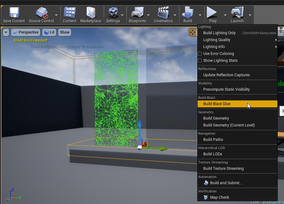 Blast UE4 Plugin Quick Start — Blast Artist Tools 1 0 documentation