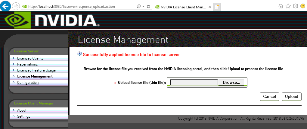 License Server User Guide :: NVIDIA Virtual GPU Software