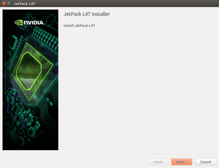 Download and Install JetPack L4T