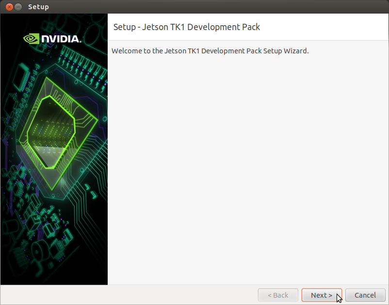Download and Install JetPack TK1