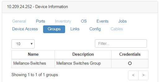 Managed Elements - NEO v2 4 - Mellanox Docs