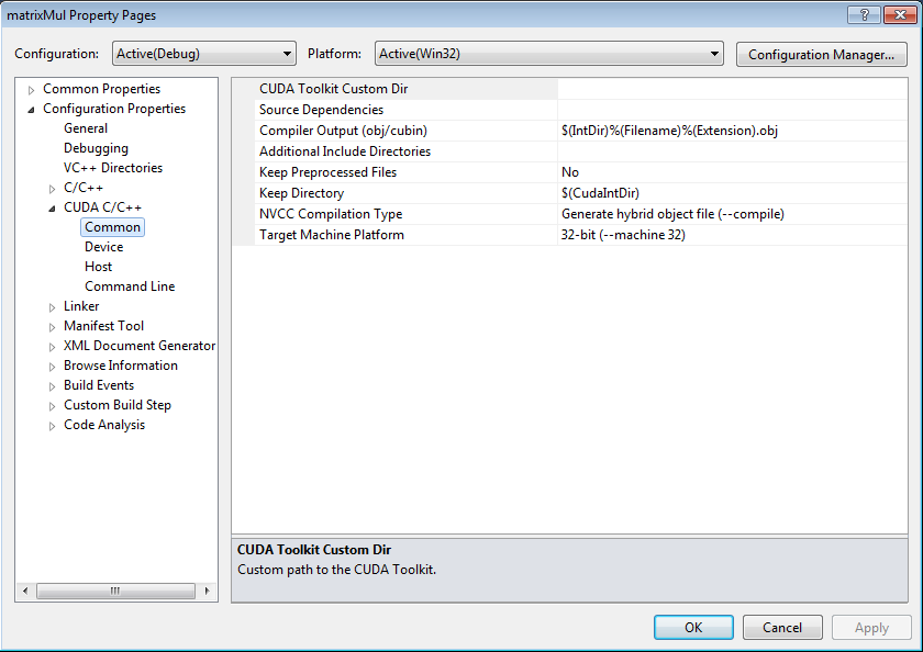 Configure a VS 2010 Project to Work with NVIDIA® Nsight™