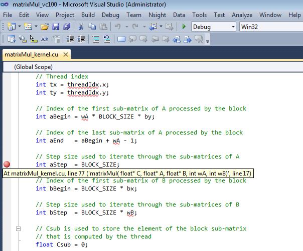 Cuda code samples