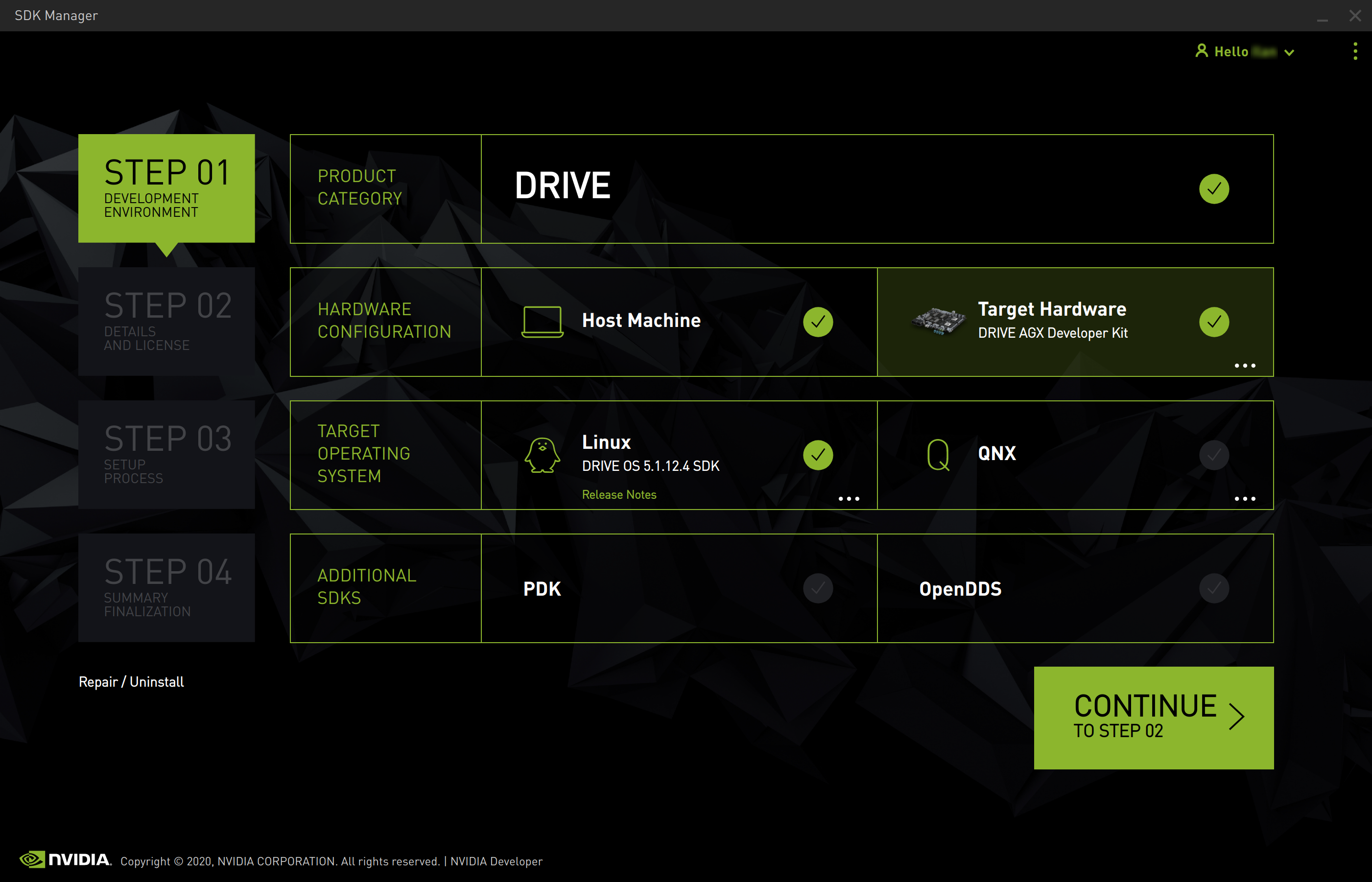Install Drive With Sdk Manager Nvidia Sdk Manager Documentation