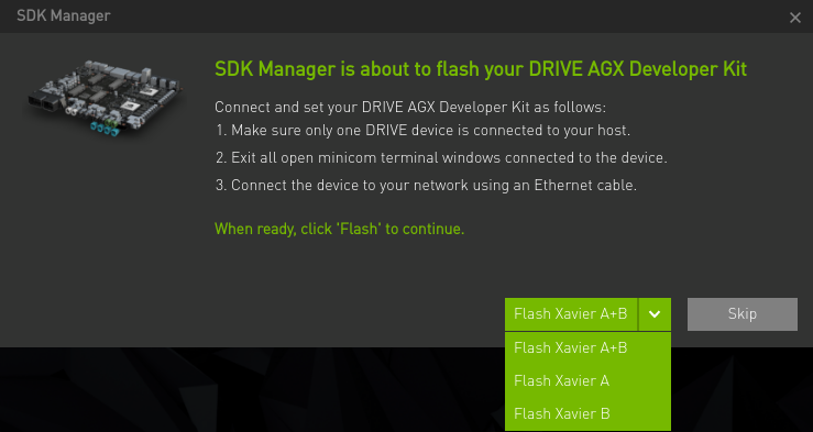 Install DRIVE with SDK Manager :: NVIDIA SDK Manager