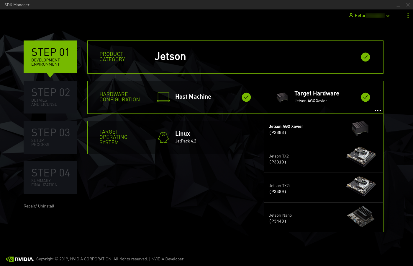 Install Jetson Software with SDK Manager :: NVIDIA SDK